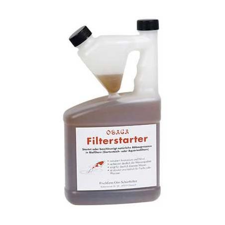 Osaga indító baktérium szűrő starter 1000ml/50m3 vízhez