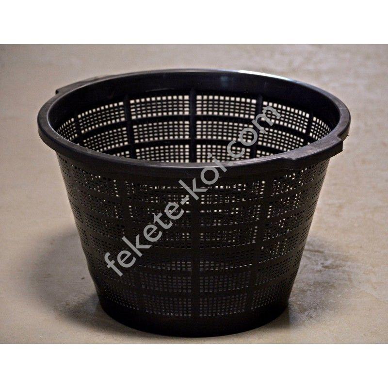 Vízinövény ültető kosár erősített 40x28cm (kerek) Tavirózsa lótusz részére