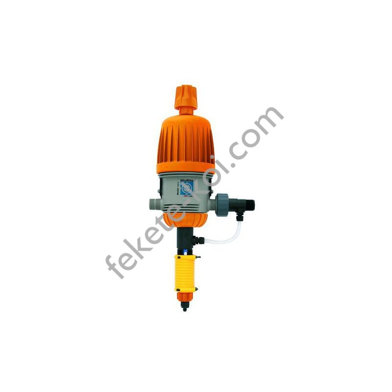 Tefen mixrite dugattyús  tápoldatozó készülék 0,3-2%,30-2500l/ó kézi kapcsolású (76/1050)