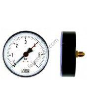 Nyomásmérő óra 0-10Bar (Fekvő)