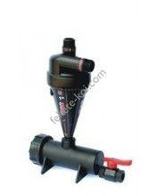"""1""""-os hidrociklonos homokülepítő szűrő 48-90L/perc"""