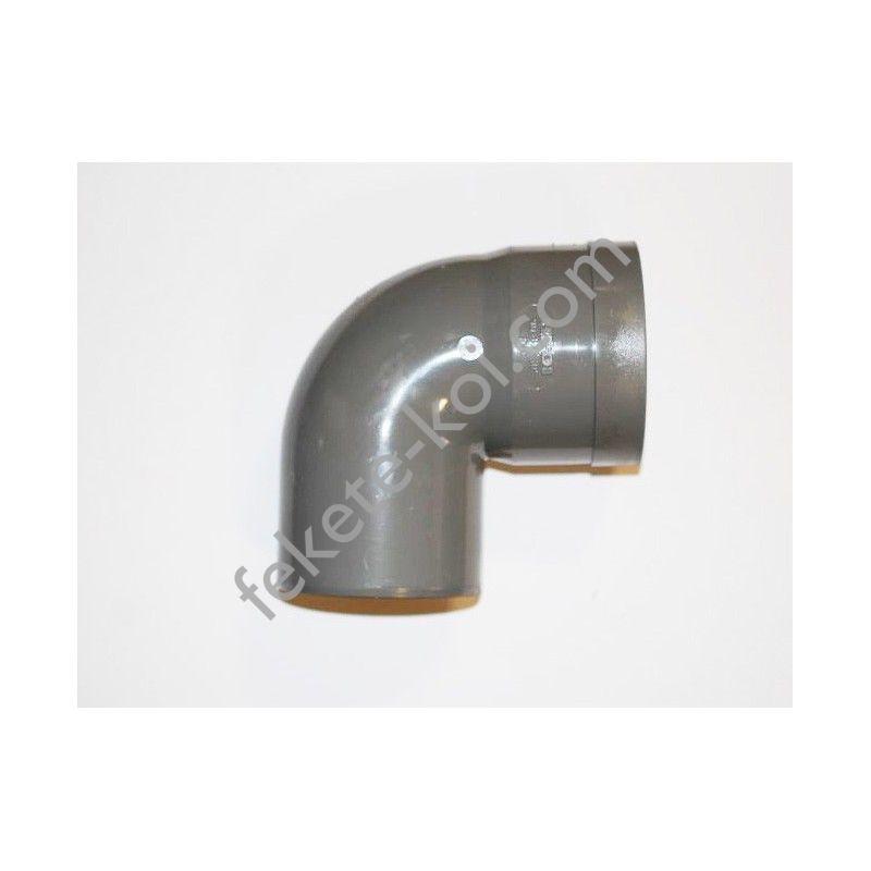 PVC 90°-os 90mm ragasztható nyomócső könyök
