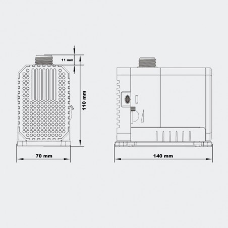 CHJ-2500 Eco szivattyú (45w)