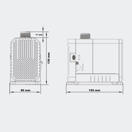 CHJ-5000 Eco szivattyú (80w)