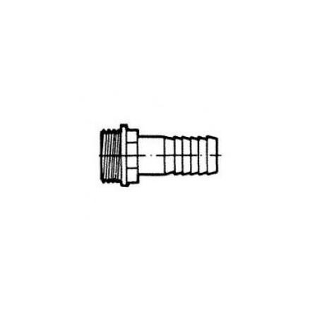 Külsőmenetes tömlőcsatlakozó 25mm (egyenes)