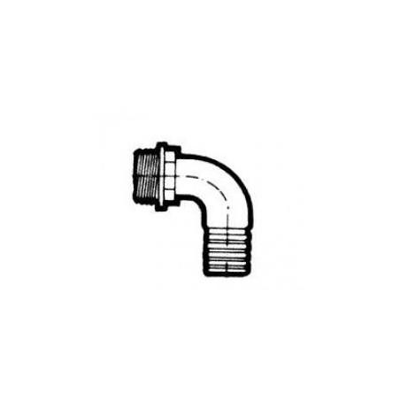 Külsőmenetes tömlőcsatlakozó 40mm (könyök)
