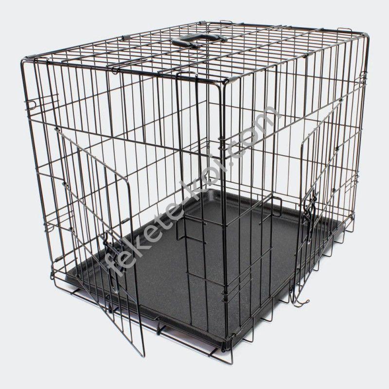 Összecsukható kisállat és kutyaszállító ketrec - XS (51391)