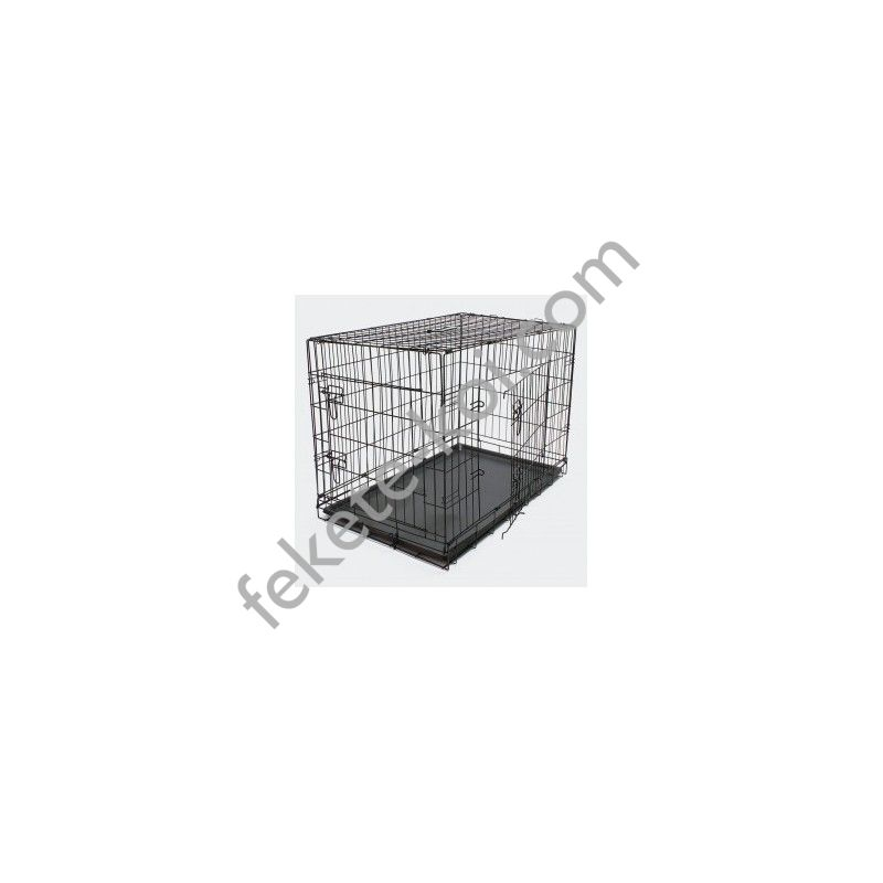 Összecsukható kisállat és kutyaszállító ketrec - M (51393)