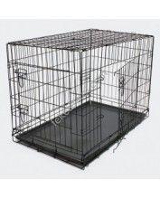 Összecsukható kisállat és kutyaszállító ketrec - L (51394)