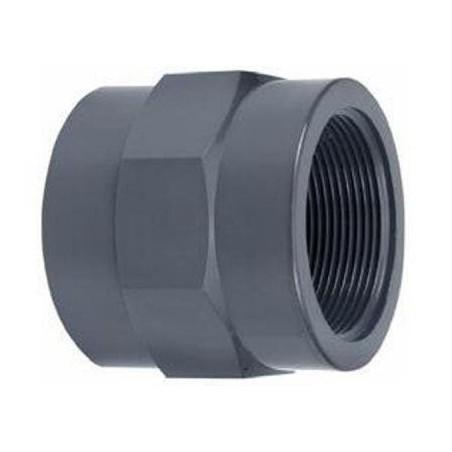 """PVC ragasztható belsőmenetes toldás 40mm x 1 1/4""""BM"""