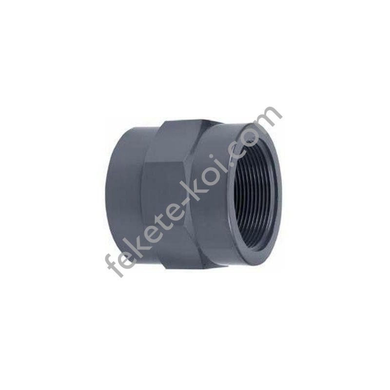 """PVC ragasztható belsőmenetes toldás 50mm x 1 1/2""""BM"""