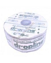 Dropline csepegtető szalag, 6mil, 30cm oszt, 1,3L/h (3000m/tek)(12,9Ft/m)