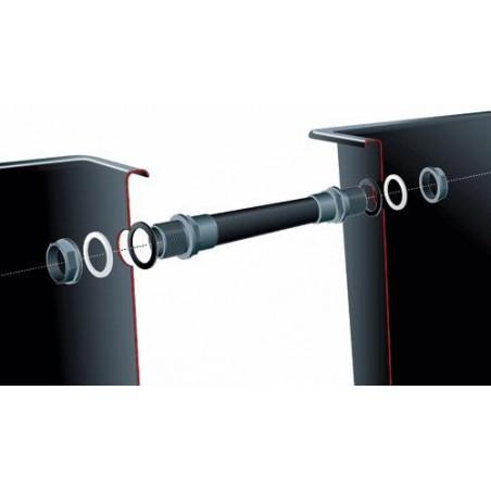 """PVC tartály szerelvény 50mm x 1 1/2"""""""