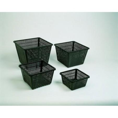Vízinövény ültető kosár 19x19x9cm (kocka)