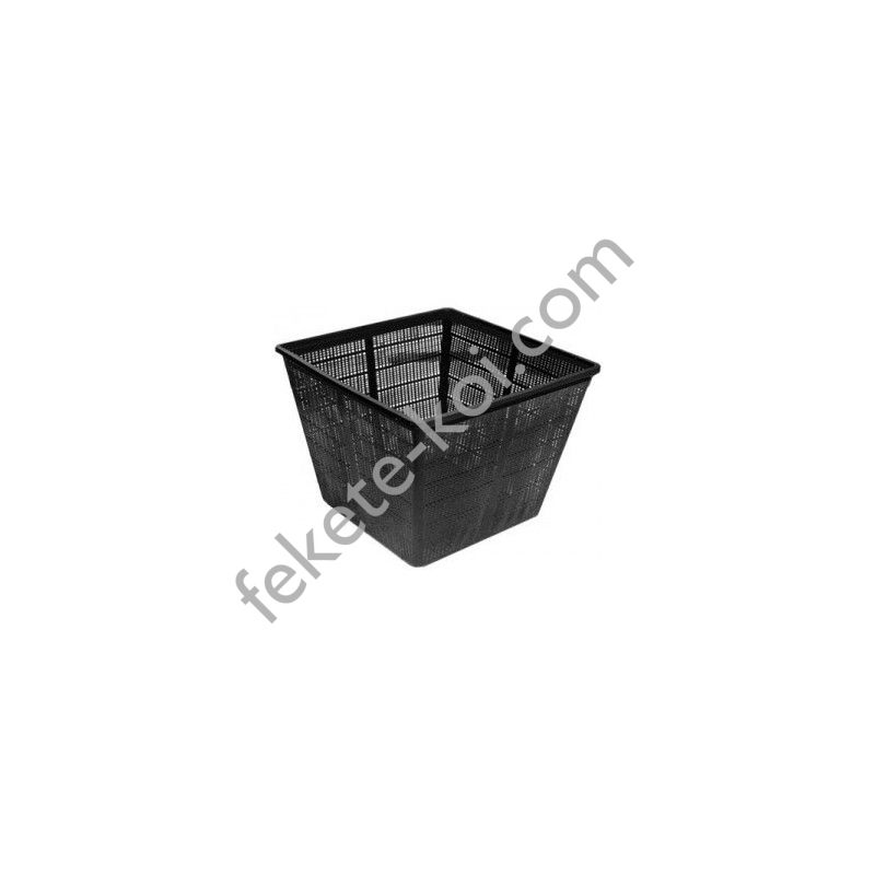 Vízinövény ültető kosár 35x35x25cm (kocka)
