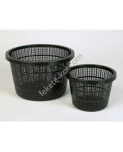 Vízinövény ültető kosár 17x13cm (kerek)