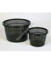 Vízinövény ültető kosár 22x13cm (kerek)