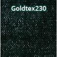 Árnyékoló háló, belátásgátló GOLDTEX230 1,5 m x 50 m zöld