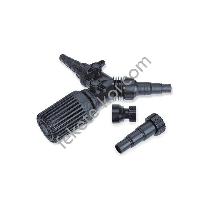 Szivattyú és szkimmer elosztó szűrőkosárral FPQ-01
