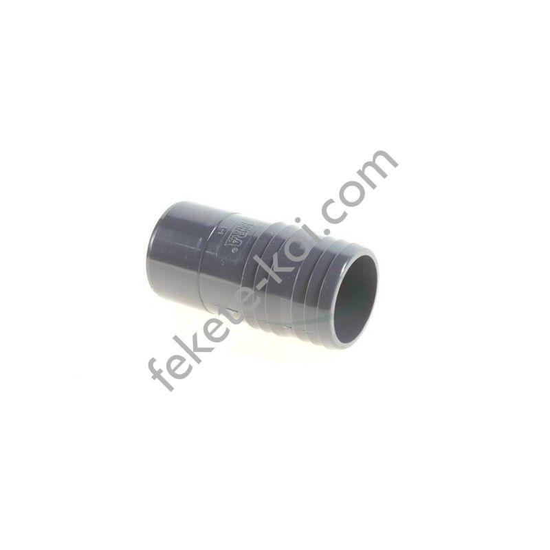 Osaga PVC tömlőcsatlakozó 40mm, ragasztható