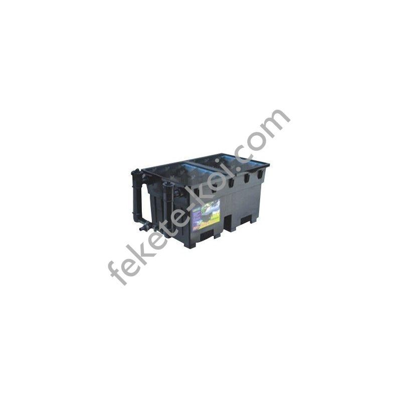 YS-100III kerti tó átfolyós gravitációs szűrő szett  2x24W UV-C lámpával SP-608 szivattyúval (20 0000)