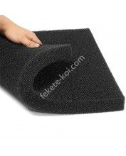 Fekete szűrőszivacs (50x50x5cm) PPI20