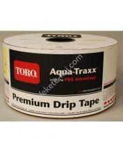 Aqua-Traxx csepegtető szalag 20cm oszt, 8mil,1,14L/h (2286m/tek)(15,99Ft/m)