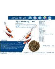Japán mix koi táp 3mm (1Kg)