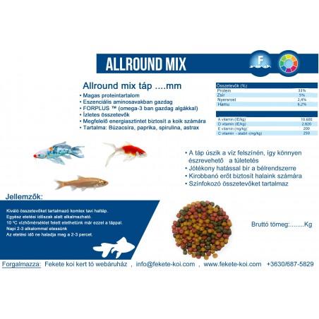 Coppens allround mix táp 3mm (1Kg)
