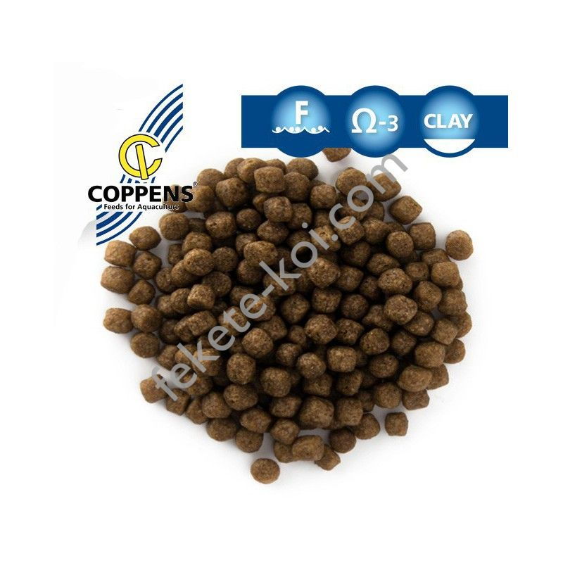 Coppens Grower magas proteintartalmú koi táp 3mm (2Kg-vödrös)