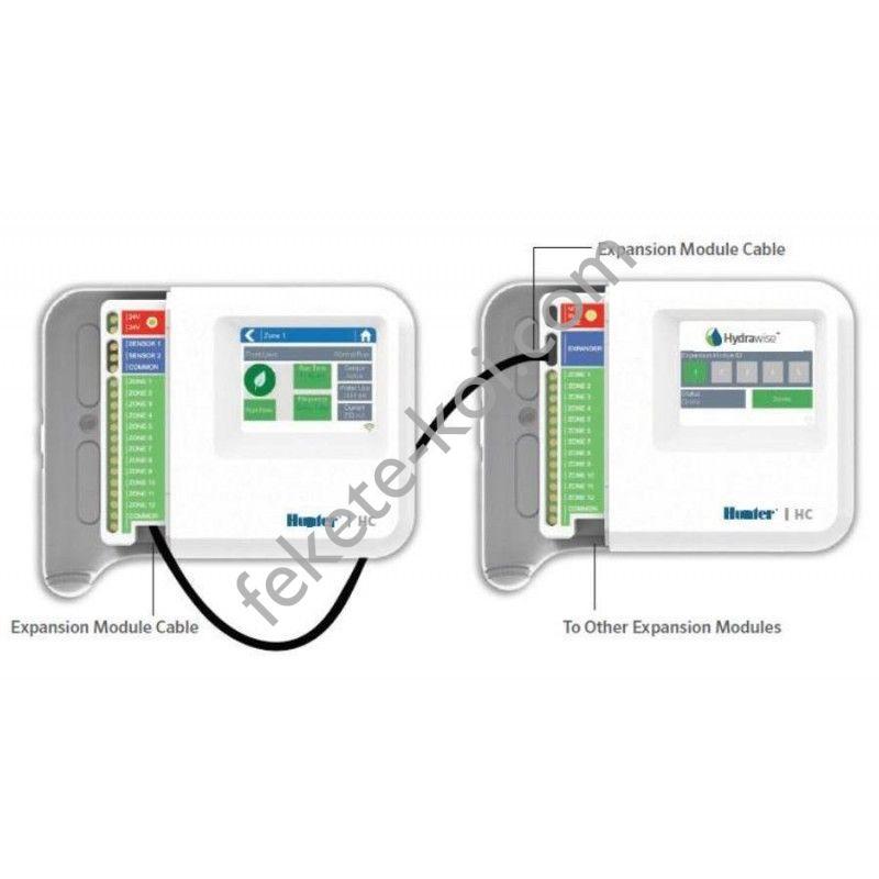 Hunter HC-1201i-E Hydrawise 12 zónás bővítő modul okos öntözés vezérlőhöz