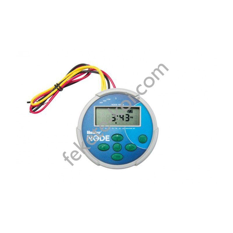 Hunter node 600 6 zónás elemes vezérlő mágnesszelep nélkül