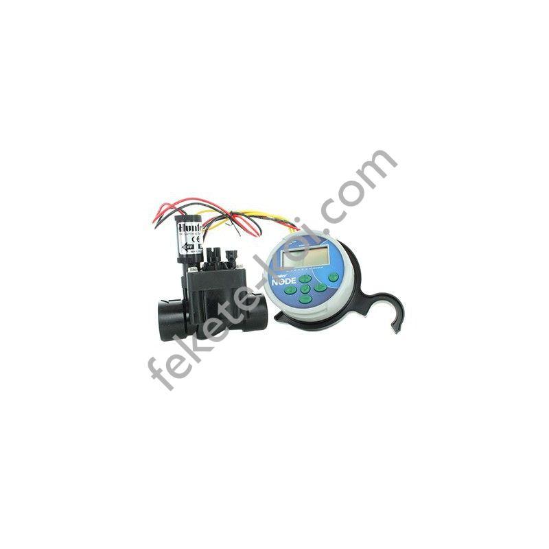 Hunter NODE-100 1 zónás elemes vezérlő mágnesszeleppel