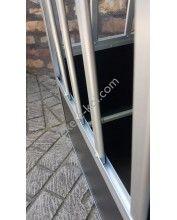 Kutyaszállító box 2 ajtós (88x95x67cm) big double door