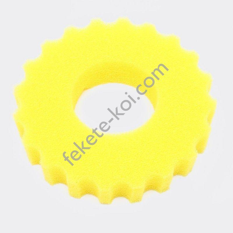 CPF és CPA 10000 nyomásszűrő csereszivacs sárga