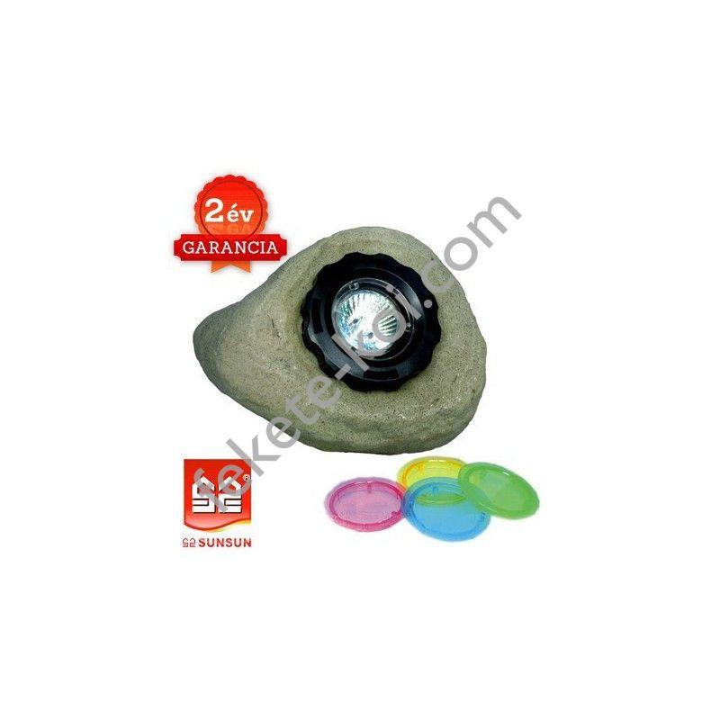 Sunsun HQD-202 kő alakú halogén világítás