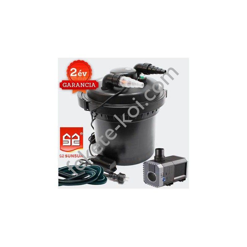 CPF 280 (11W UVC) nyomásszűrő szett 1.(CHJ-2000+3m 20 bordás tömlő)