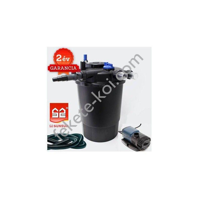 CPF 30000 nyomásszűrő szett 4.Nagyobb vízeséshez(JTP-12000+4m 32 bordás tömlő)