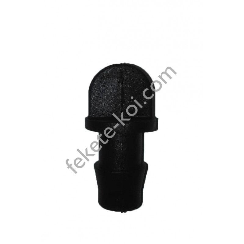 15-ös gumiba záródugó (fekete)