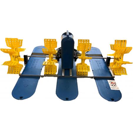 Lapátkerekes halastó levegőztető Paddle Wheel (PAD-1.5) 1500w 240V