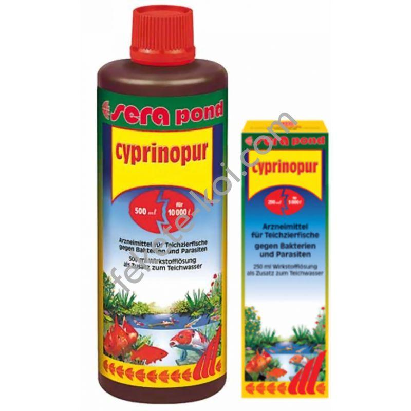 Sera pond cyprinopur 250ml (5m3) gyógyszer