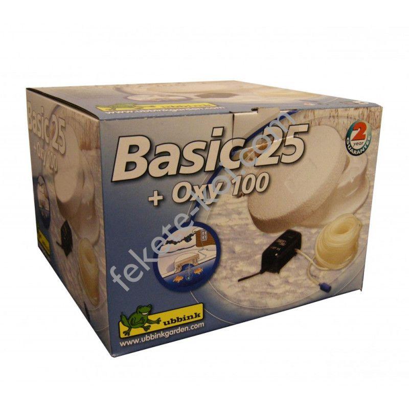 Ubbink befagyásgátló Basic 25 léktartó + Oxy 100 kompresszor