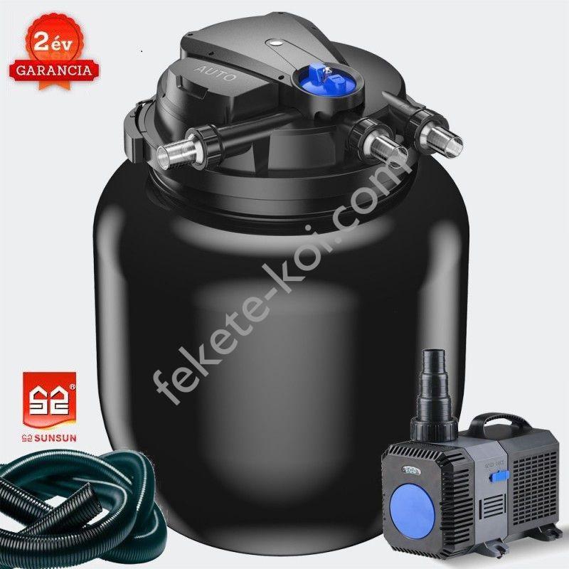CPA 50000 nyomásszűrő szett 2. Nagyobb vízesésekhez (CTP-14000+4m 32 bordás tömlő)
