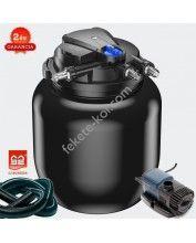 CPA 50000 (55W UVC) nyomásszűrő szett 4.(JTP-14000+4m 32 bordás tömlő)