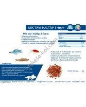 Mix tavi haltáp 3-6mm (1Kg)