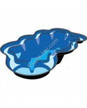 Neptun V 3800 literes műanyag tómeder