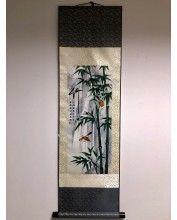 Vászontekercses Bambuszos kép 90x30cm