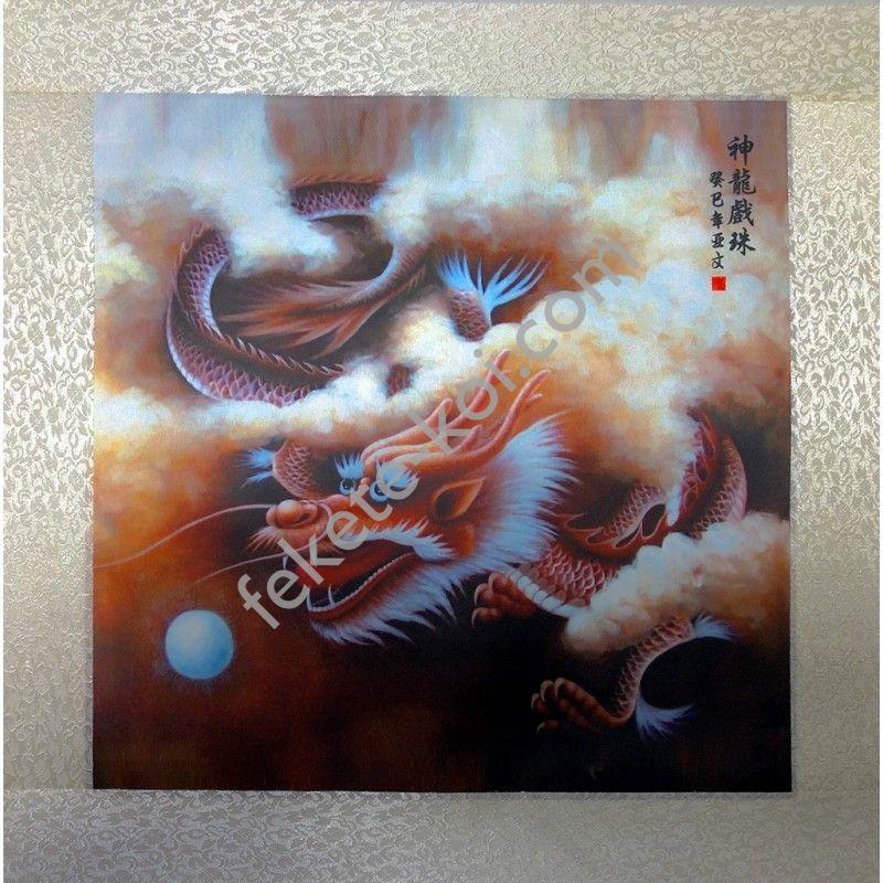 Fali vászonkép Sárkányos 45x45cm