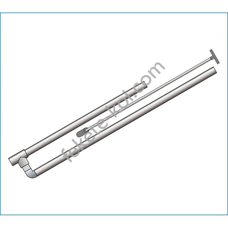 PVC pumpa golyós szeleppel 32/40 (húzószárral acélgolyóval)