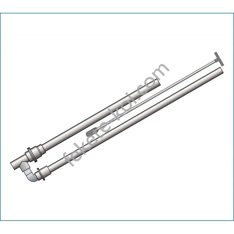 PVC pumpa 2 visszacsapó szeleppel 32/50-40-50(húzószárral)